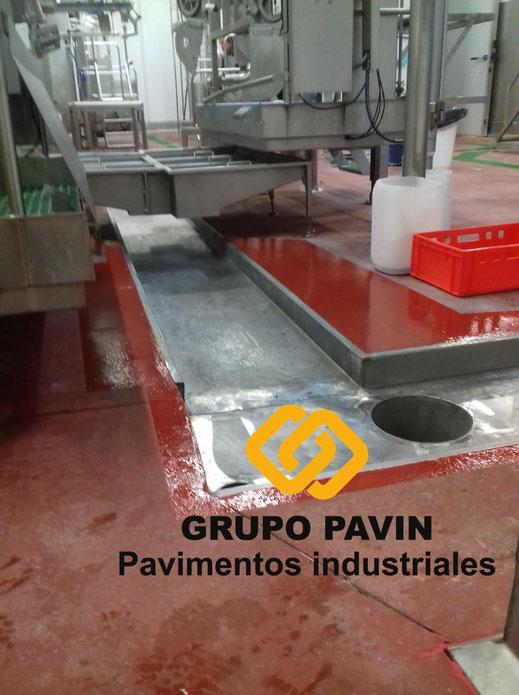 GRUPO PAVIN - Pavimentos Industriales   Reparaciones para industria cárnica - Resultado final de la reparación