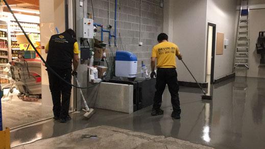 GRUPO PAVIN - Suelos y pavimentos industriales | Fases del proceso de ejecución de un pavimento industrial - Nivelación del soporte existente