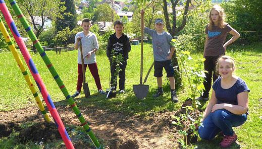 Jugendgruppen in den Ortsvereinen des  Kreisverbandes Gartenbau Rosenheim e.V.