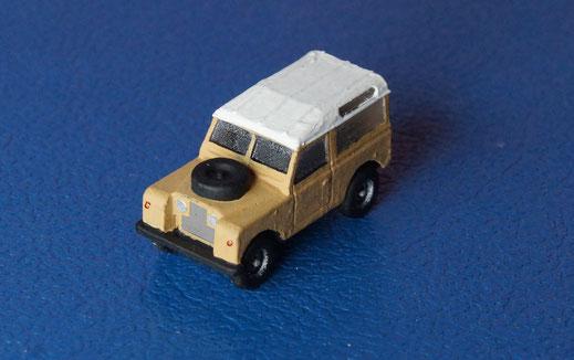 N scale Land Rover MK II