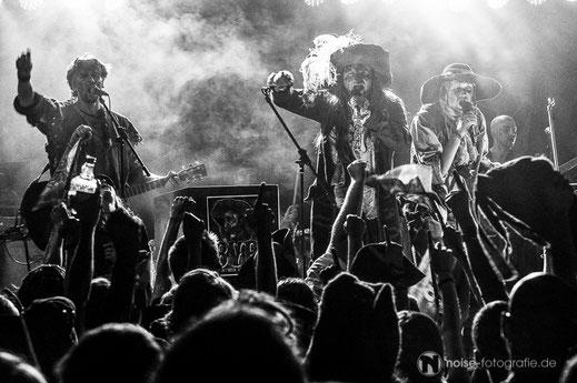 Knasterbart auf dem MPS Dresden 2014 Mittelalter schwarzweiß Konzert live