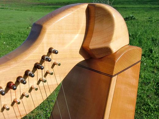 Harfenbauer, Harfenbau Tremer, Harfe Jupiter