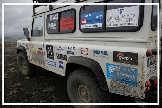 Reisefotograf Jürgen Sedlmayr | Land Rover Defender | Island 2007
