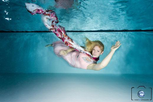 Bild: Unterwasser Einzelshooting in Berlin