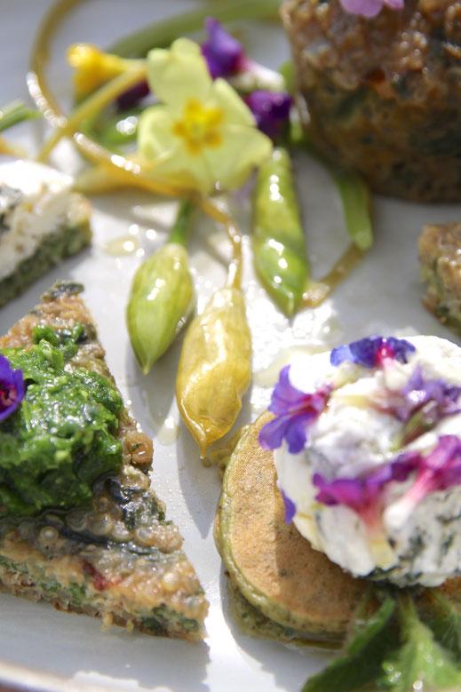 Cuisine sauvage - ail des ours - Touraine Terre d'Histoire ©Emilie Boillot