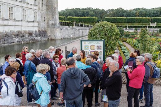 Visites groupes de JARDINS REMARQUABLES TOURAINE - VAL DE LOIRE Loire valley
