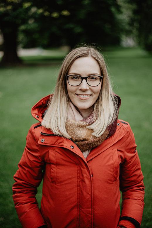 Portrait Katharina in Mannheim by Sebastian Pintea