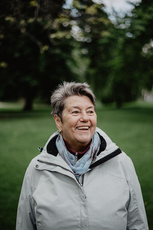 Portrait Oma in Mannheim by Sebastian Pintea