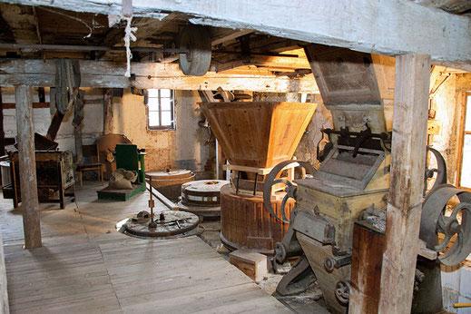 Historischer Mühlraum