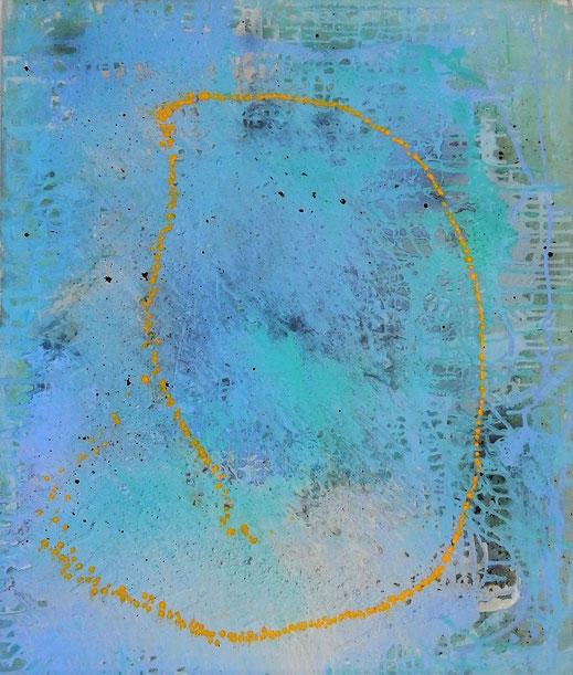Tiefes Meer (100x120cm)