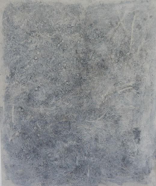 Genarbte Haut - 2  (100x120cm)