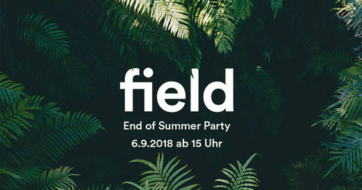 field: End of summer party Flyer