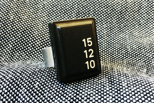 Tastaturring mit den Zahlen 15 12 10