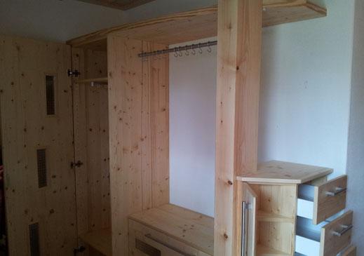 garderoben m belschreinerei werner k hnlein. Black Bedroom Furniture Sets. Home Design Ideas
