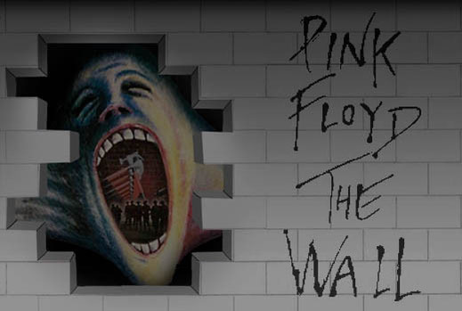 copertina album pink floyd, the wall