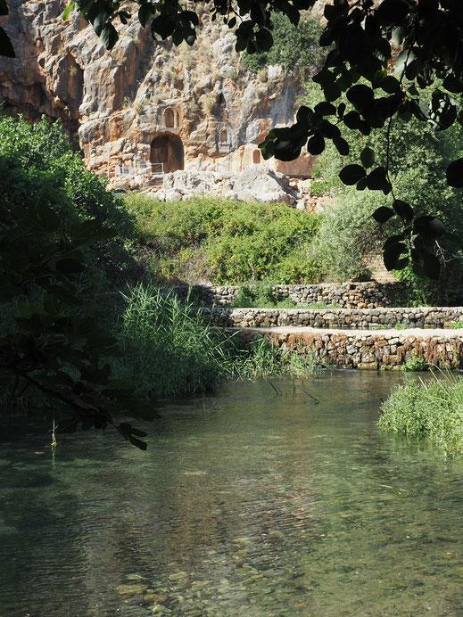Nacimiento del Río Jordán, Banias