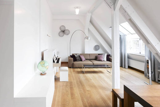 bottega ehrhardt apartment91 wohnzimmer gardinen