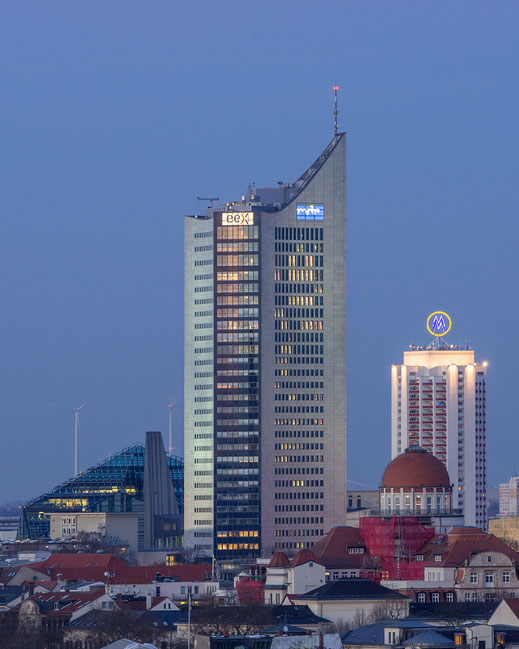 Leipzigs Hochhäuser