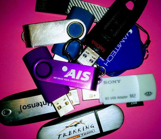 USB-Stick Haufen