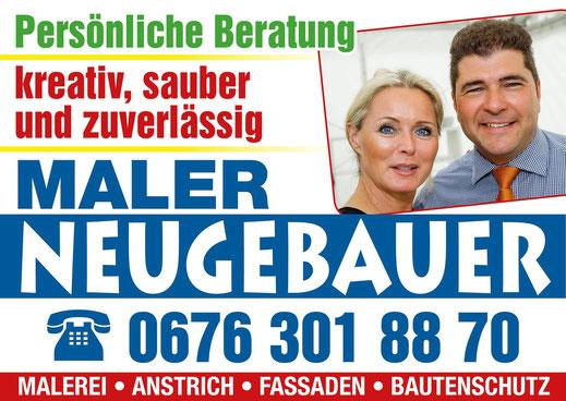 Maler, Wiener Neustadt, Malerarbeiten, Sanierung, Schimmel, Fassade, Renovierung, Neugebauer, Streicharbeiten, Wasserschaden, Brandsanierung