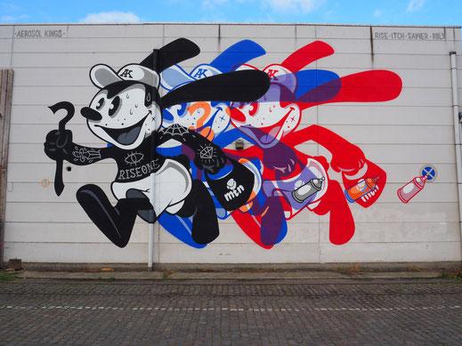 'Oswald' het Eilandje, Antwerpen