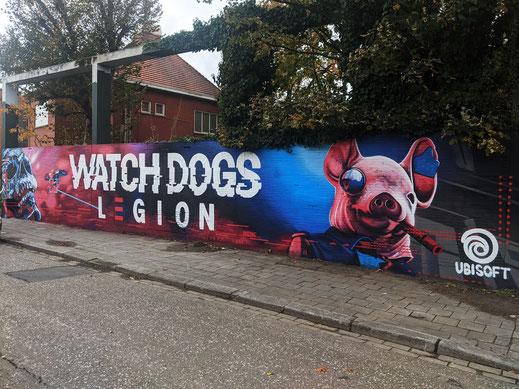 'Watchdogs Legion' Ubisoft, Antwerpen