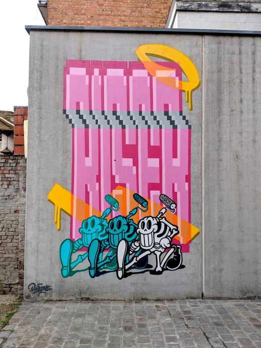 'Riser' Bibliotheek Permeke, Antwerpen