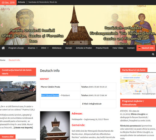 Homepage des Korps Bonn