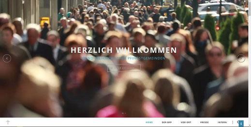 Homepage des BFP