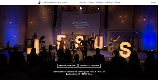 Homepage der Christengemeinde Bonn