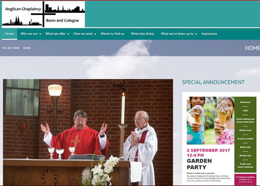 Homepage der Pfarrgemeinde