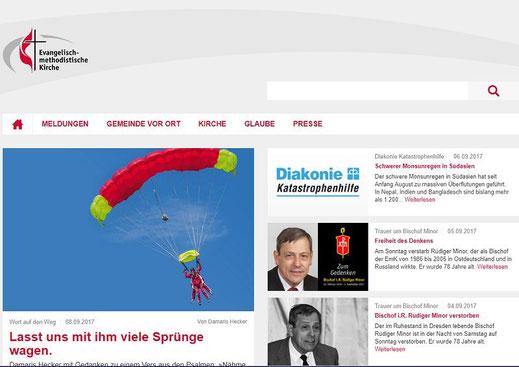 Homepage der EMK Deutschland
