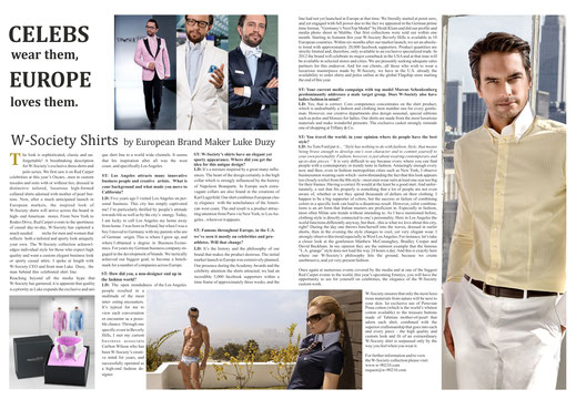 Beverly Hills Times Magazin