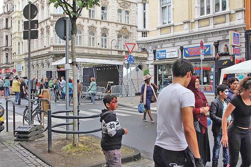 Festival Miteinander – Füreinander 2017 auf der Berliner Straße