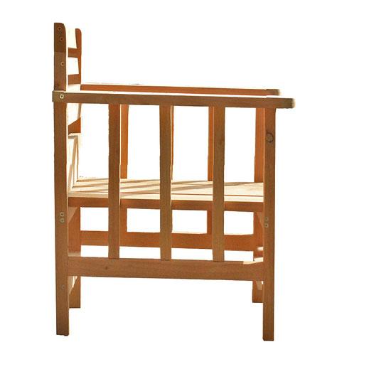 fauteuil de jardin en bois