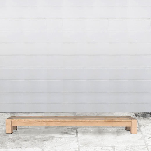 table basse bois jardin