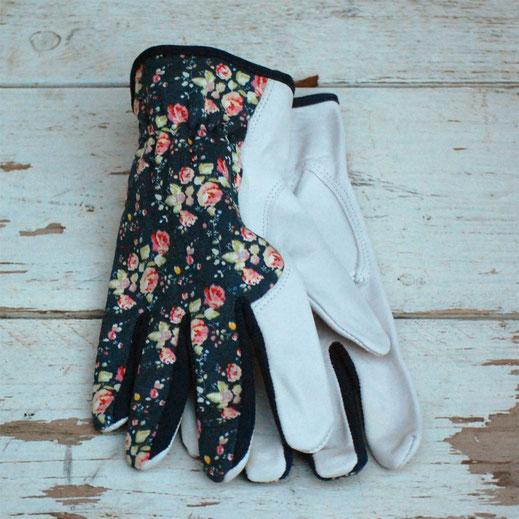 gants de jardinage fleurs