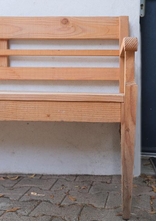 banc ancien bois jardin