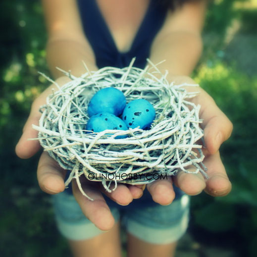 Handmade bird's nest