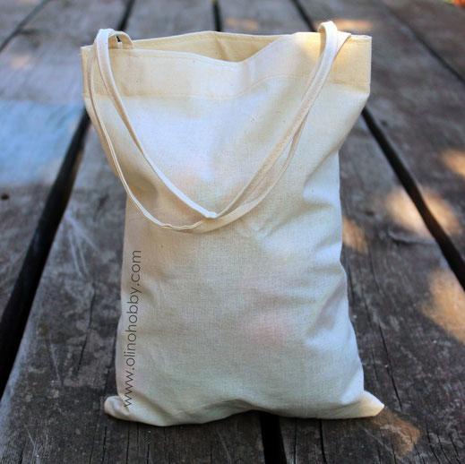 Холщовая сумка для вязаных фруктов и овощей OlinoHobby.