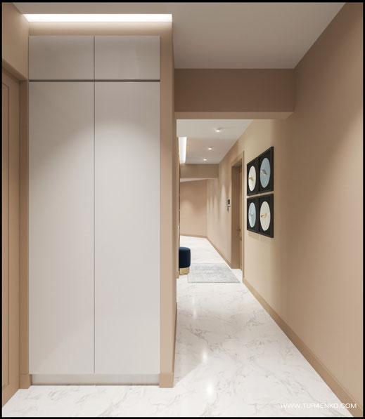 дизайн квартиры в современном стиле 89163172980