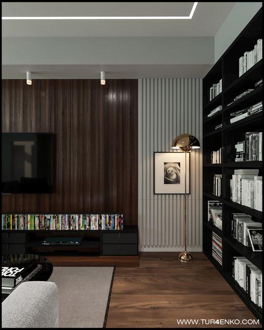 дизайн гостиной в ЖК Арт 89163172980 Дизайн студия Москва