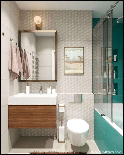 идеи для ванной комнаты в ЖК Среда 89163172980