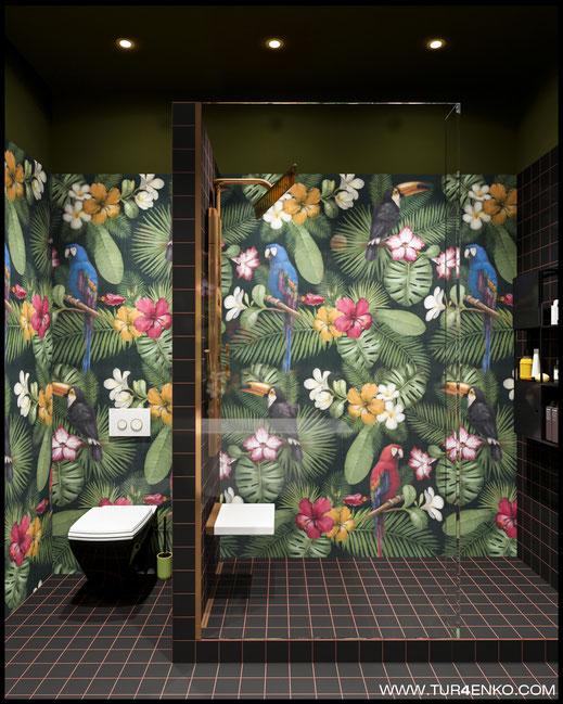 дизайн ванной в ЖК Зиларт 89163172980