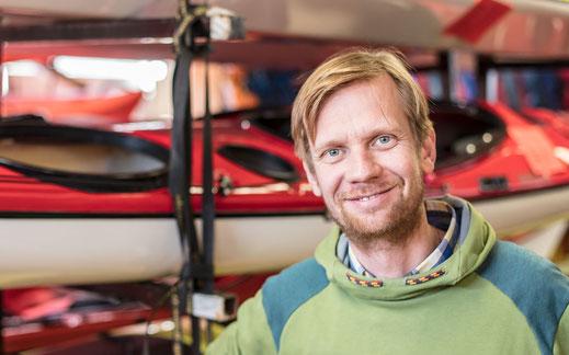 Rudi Baumhauer - der Wassersportspezialist bei Baumhauer Outdoorsport
