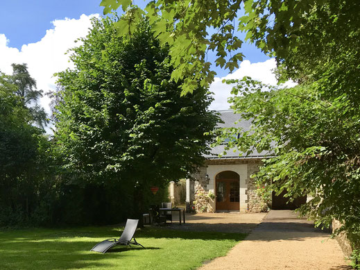 Domaine de Joreau - self-contained holiday house in Gennes, near Saumur in the Loire Valley