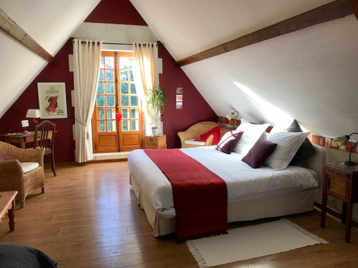 Bed & breakfast loire valley, double room Saumur-Champigny, saumur