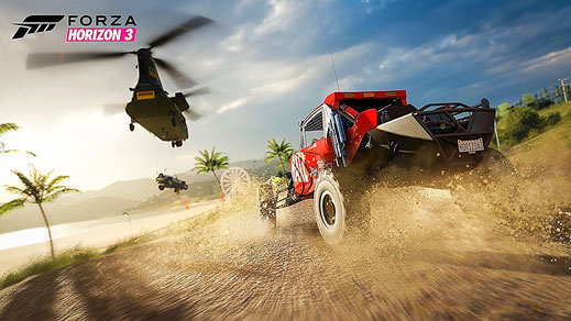 Forza Horizon 3: Offroad vs Helikopter