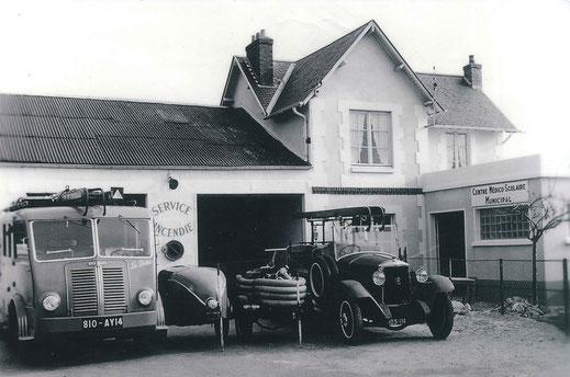 Le local des pompiers - Coll Mairie