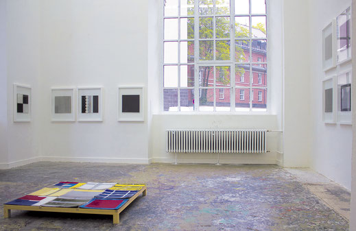 exhibition view - abschluss at kunstakademie düsseldorf